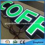 Canal d'acrylique attrayant Lettre signe (lettres personnalisées)