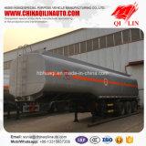 40000L huile d'arachide de la capacité de transport semi-remorque-citerne