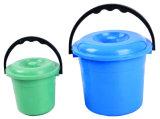 プラスチック水バケツ、ハンドルが付いているバケツの注入型