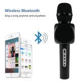 Microfone de Karaoke portátil sem fio com alto-falantes