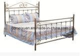 Hersteller, die europäisches, bearbeitetes Eisen-Bett, doppeltes faltendes Bett (M-X3587, verkaufen)
