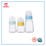Бутылка регулярно младенца шеи 60ml PP подавая с ниппелью силикона