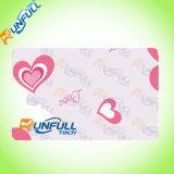Cartão de tamanho material do painel de assinatura Cr80 do PVC
