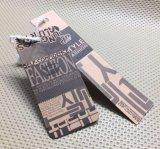Tag do balanço do papel de embalagem Para a roupa/vestuário/sapatas/jóia