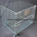 معلنة فولاذ قابل للتراكم سلك وعاء صندوق