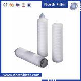 Filter van het Water van de Ijskast van de Levering van de fabriek de Uitstekende kwaliteit Gevouwen