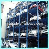 3 4 Véhicules Speed Smart Lift Four Post Quad Car Parking Système de stockage