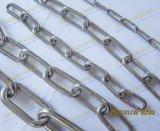 De Keten van de Link van het roestvrij staal (DIN766)