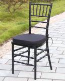 Schwarzes Resin Chiavari Chair für Weddings
