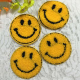 La cara de sonrisas parches parche bordado de ropa de T-shirt Vestido Blusa Decoración Motif Appliqued Badge
