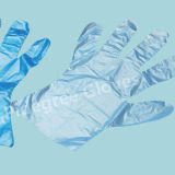 Wegwerfbarer PET Handschuh, HDPE Handschuh