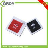 NFC uso etiqueta etiqueta en el metal con NTAG 213 de chip