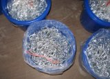Catena a maglia galvanizzata ad alta resistenza di Short del acciaio al carbonio