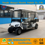 Zhongyiのブランド4のシートのバケツおよびセリウム及びSGSの証明の電気標準的な小型ゴルフカートバス