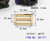 Moda fivela metálica para Garement personalizado