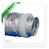 Aluminio Flexible aislado de conducto para conductos de climatización