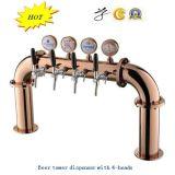 304 Bieruitrusting in roestvrij staal - Gebogen bier dispenser