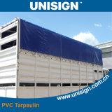Grau 5 Anti-UV revestido encerado para Truck Capa