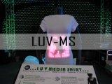 Luv Camisas LED, camisola de Mídia
