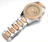 Uhr der Frauen Form-Armbanduhr-der hölzernen Uhr-Männer