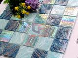 Линия мозаика золота плавательного бассеина цвета радуги кристаллический стеклянная для бассеина (CSJ103)
