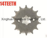 Ybr 125cc Motorcycle Front Chain Sprocket 14t Fit 428h Accessories
