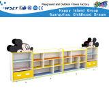 Детсада шкафа игрушек шины мебель модельного деревянная для деревянной полки игры роли малышей (HC-3101)
