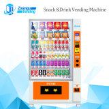 Mejor para vender Fuit, vegetales, máquina expendedora de alimentos en caja con ascensor
