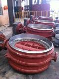 Литые стальные Py16 DN600 ГОСТ двухстворчатый клапан (D373H-DN600-PY16)