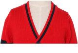 2016人の新しい卸し売り学校のカーディガンの男女兼用の流行の子供の学生服かセーター