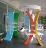 Stahlplastikregal für Bildschirmanzeige (GDS-041)