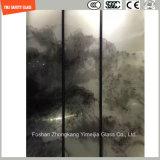 4-19mm Sicherheits-Aufbau-Glas, versandendes Glas, heißes schmelzendes gekopiertes Glas für Hotel-u. Ausgangstür/Fenster/Dusche/Partition/Zaun mit SGCC/Ce&CCC&ISO Bescheinigung