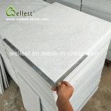 Wellestの純粋で白い珪岩のタイル張りの床のタイルの屋外の床タイルの建築材料のタイル