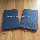 A6 Notitieboekje van uitstekende kwaliteit van het Mollevel van het Notitieboekje van de Dekking van het Leer van het Notitieboekje het Elastische