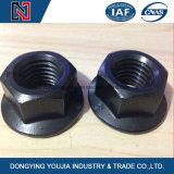 Qualité 10.9 écrous hexagonaux en acier au carbone avec bride