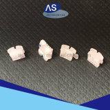 Parentesi di ceramica ortodontiche basse 3.4.5hooks della maglia con l'alta qualità