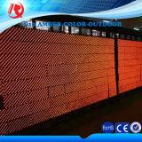 Alto módulo al aire libre de la visualización de LED del ámbar de la INMERSIÓN P10 del brillo 16X32