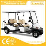 Carrello di golf di impianto elettrico delle 6 persone con la sede posteriore di caduta di vibrazione