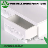 De Europese Witte Toilettafel van het Meubilair van de Slaapkamer met Spiegel (w-hy-017)