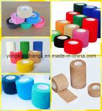 Повязка обруча спорта повязки цветастой кохезионной повязки эластичная