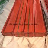 직접 선반에 의하여 직류 전기를 통하는 강철 물결 모양 강철 루핑 Sheet/Gi/PPGI 루핑 장
