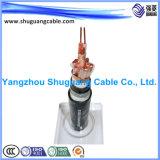 Экранированное XLPE изолировало обшитый PVC бронированный кабель аппаратуры