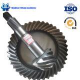 BS0280 9/41 나선형 기어 트럭 후방 드라이브 차축은 Metel 주문을 받아서 만들어진 나선형 비스듬한 기어일 수 있다