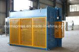 Wc67y-100t/3200mm 장 구부리는 기계, CNC 압박 브레이크, 유압 격판덮개 구부리는 기계 가격