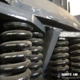 石のSimensモーター(WLC1160)を搭載する石造りの円錐形の粉砕機