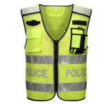 Veste reflexiva da grade quente feita sob encomenda de Constraction do saneamento da segurança de tráfego da venda