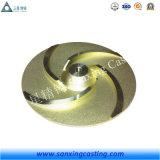 無くなったワックスの鋳造、投資鋳造、精密鋳造の金属部分