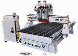 Ranurador doble del CNC de la carpintería del eje de rotación con el certificado del SGS del Ce