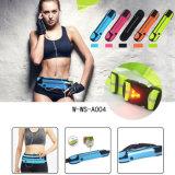 Esporte ao ar livre que funciona o saco impermeável da cintura para mulheres