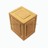 최신 아랍 작풍 사각 PU 가죽 향수 포장 상자